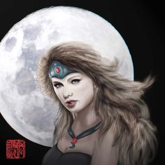 cause i think taylor will look great to cosplay mirana from Chinese Painting, Chinese Art, Dota 2, Looks Great, Halloween Face Makeup, Cosplay, Manga, Awesome Cosplay, Manga Comics