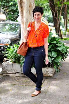 Work Casual, Casual Chic, Casual Looks, Teacher Wardrobe, Teacher Outfits, Camisa Coral, Boho Outfits, Casual Outfits, Estilo Real
