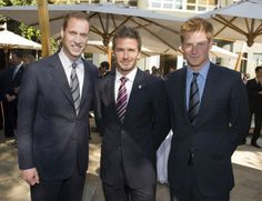 the trifecta! british royalty at its best