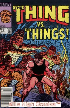 THING (1983 Series) (MARVEL) (FANTASTIC FOUR) #16 NEWSSTAND Very Fine Comics: $9.38 End Date: Sunday Mar-18-2018 7:17:21 PDT Buy It Now for…
