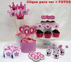 doces festa infantil princesas
