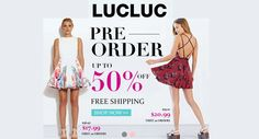 Get upto 50% discount on pre order + free shipping . For more deals and coupons visit: http://www.couponcutcode.com/stores/lucluc/