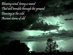 Zelda Lyrics: Song of Storms (re-written)
