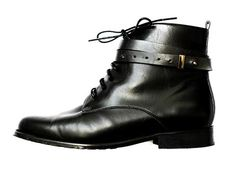 Vegan Shoes & Bags: Moby Biker Boot by BHAVA in Black