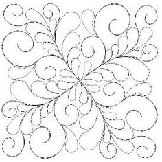 Quilting Stencils, Quilting Templates, Longarm Quilting, Free Motion Quilting, Quilting Projects, Quilting Ideas, Machine Quilting Patterns, Quilt Patterns, Whole Cloth Quilts