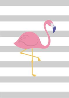 Flamingo Painting, Flamingo Decor, Flamingo Wallpaper, Iphone Wallpaper, Chanel Wallpapers, Book Wrap, Star Painting, Baby Posters, Girl Decor