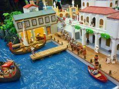 Luxplaymodays 2014 -Puerto romano playmobil