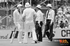 Lillee goes out with an aluminum bat. WACA, '79.