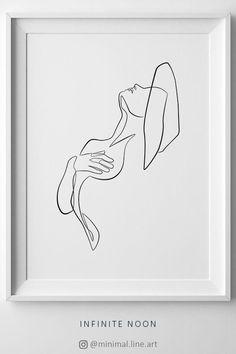Minimal Woman Nude Print, Naked Female Figure Sketch, One Line Drawing, Minimalist Print, Easy Pencil Drawings, Art Drawings, Simple Line Drawings, Figure Sketching, Figure Drawing, Form Drawing, Female Drawing, Minimal Art, Tumblr Room Decor