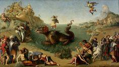 Andromeda Freed By Perseus  Piero di Cosimo