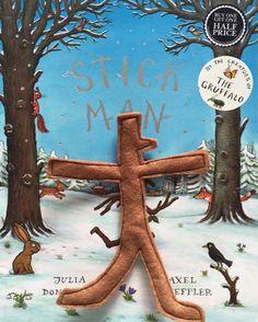 felt stick man craft activity - the gingerbread house