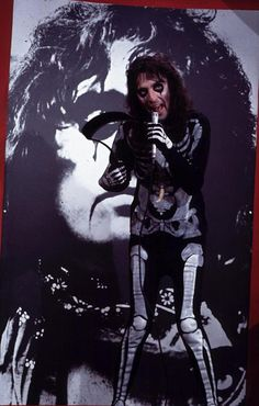 """Alice Cooper on The Snoop Sisters show. He played a warlock and lip-synched to """"Sick Things."""" (1973)"""