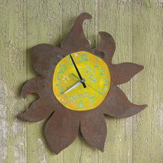 time to shine clock time is something to treasure and this handcrafted clock