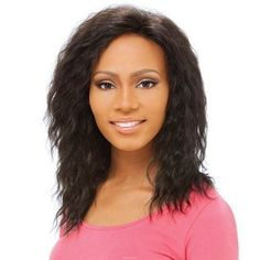 Sensationnel Human Lace Front Wig Eva Color 2 by Sensationnel. $128.99