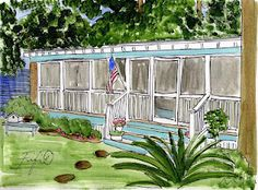 Little Fish Cottage by Fifi Flowers