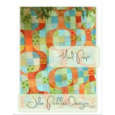 Mod Pop Quilt -- love the curves-- must try