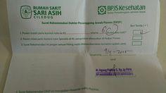 Surat Rekomendasi DPJP, Agar Pasien BPJS Tidak Minta Rujukan Tiap Bulan - Pasien…