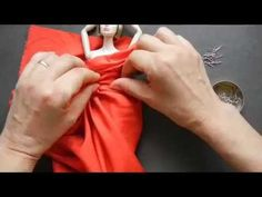 How to Make a Couture (Draped) Dress for your Doll