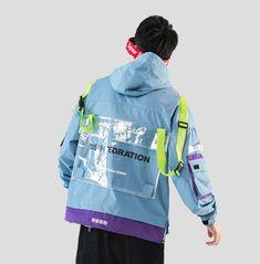 """UDXDIS """"PROVE"""" Jacket Aesthetic Fashion, Urban Fashion, Boy Fashion, Fashion Outfits, Fashion Design, Fashion Brenda, Cyberpunk Fashion, Future Fashion, Costume Dress"""