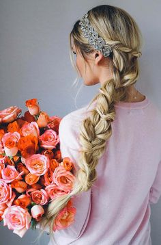10 Valentine's Day-Perfect Hairstyles  #hair #hairstyles