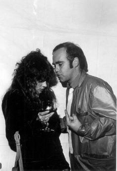 Stevie Nicks and Elton John