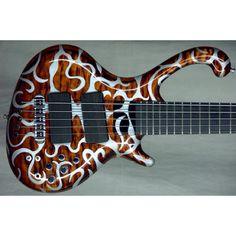 Jens Ritter Burning Beauty (#0439) 5-String Bass
