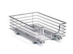 Cabinet Organizer Sliding Rack Kitchen Storage Cupboard Shelf Pantry Box Basket #HouseholdEssentials