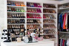 Arrange Shelves to Showcase Collections