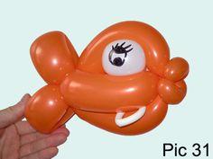Balloon-O-Therapy Twisting Balloons with FewDoIt: Fish 3 Balloon Twisting Sculpture