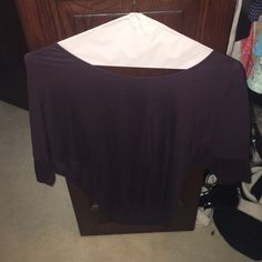 Express purple top Plain purple with baggier sleeves Express Tops