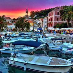 by Bravo 💜👣💙 Hvar Croatia, Split Croatia, Split Hvar, Slovenia, Maldives, Wanderlust, Romantic, Magic, Dreams