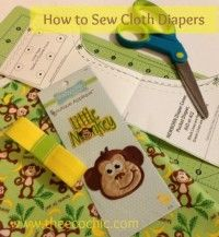 How to Sew Cloth Diapers