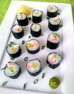 Como fazer sushi (hosomaki ou hossomaki)