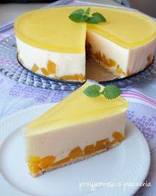 Przyjemność z pieczenia: Sernik na zimno z brzoskwiniami