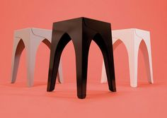 schindlersalmeron: aluminium hocker stool