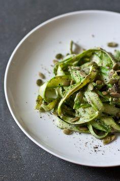 10 recipes for spring - asparagus caesar salad // edible perspective