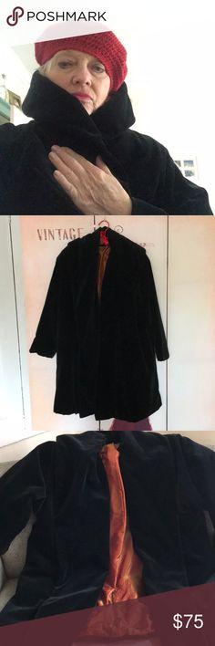 I just added this listing on Poshmark: Rare Vintage Velvet Coat. Wrap Coat, Velvet Jacket, Vintage Velvet, Cotton Velvet, Crinkles, Wrap Style, Shoulder Pads, Fashion Tips, Fashion Design