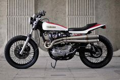 Yamaha XS650 Street Tracker by Red Max Speed Shop via Moto Rivista