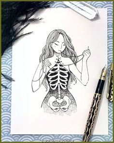 doodle art creative \ doodle art doodle art journals doodle art for beginners doodle art easy doodle art drawing doodle art creative doodle art patterns doodle art letters Dark Art Drawings, Art Drawings Sketches Simple, Pencil Art Drawings, Sketch Art, Tattoo Drawings, Cool Drawings, Disney Drawings, Tattoo Sketches, Drawings With Meaning