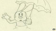 BBC News - Disney animates Oswald the Lucky Rabbit sketches