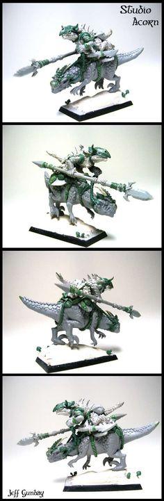 Mounted Lizardman Conversion