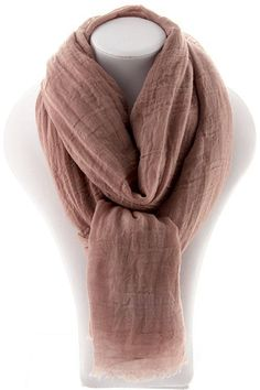 Soft Luxe Scarf Brown