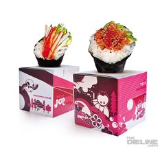 Japanese restaurant food packaging