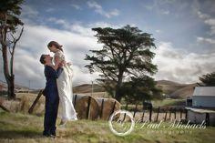 Ben and Emma at Ohariu farm fields. New Zealand #wedding #photography. PaulMichaels of Wellington http://www.paulmichaels.co.nz/