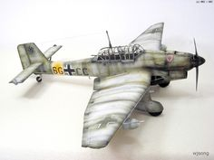 Junkers Ju-87 B-2 STUKA (1/32 Trumpeter)