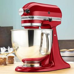 @kitchenaidusa Empire Red 5-Qt. Artisan® Series Stand KitchenAid Mixer #zulilyfinds