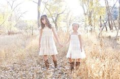 girls dress flower girl dress girls rustic by CountryCoutureCo