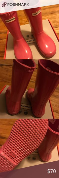 hunter boots and socks Pink hunter boots Hunter Boots Shoes