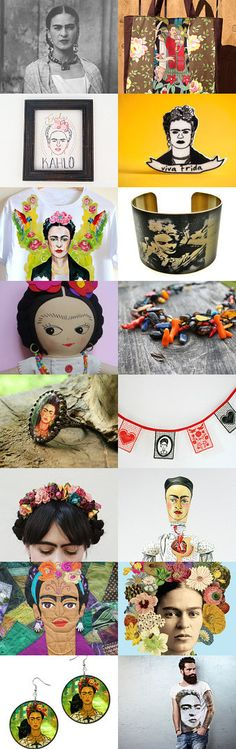Viva Frida! by 3buu on Etsy--Pinned with TreasuryPin.com
