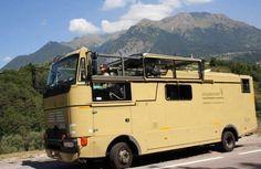 Nouveau ! Le camping-car décapotable arrive sur le marché !